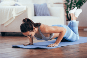 Women's Fitness: Girl Push Up Program