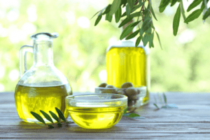 Fasting olive oil