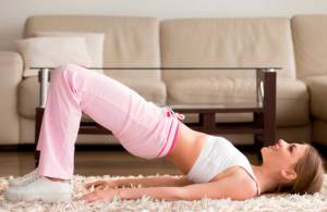 How to put your hips in order at home?