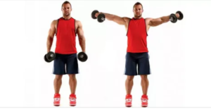 How to pump up shoulders.